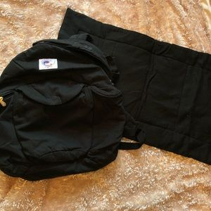 Ergo baby diaper bag backpack